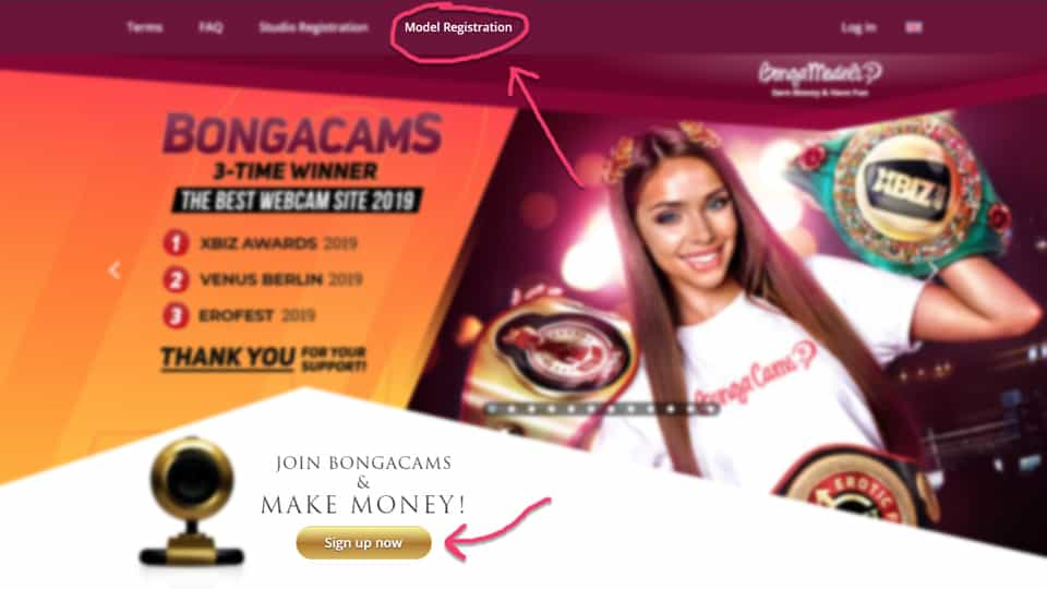 How to become a Bongacams model